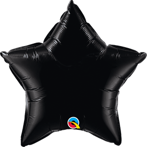 Black Star Balloon | 18""