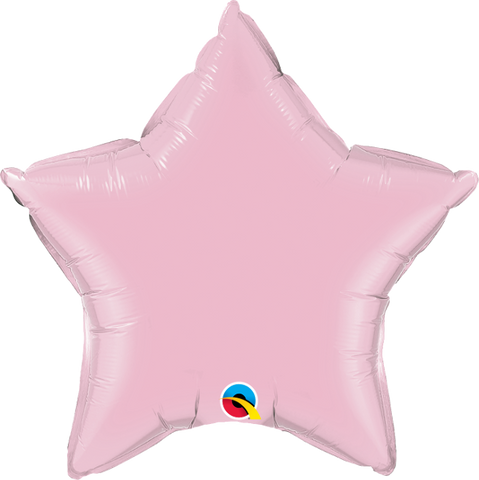 Pearl Pink Star Balloon | 18""