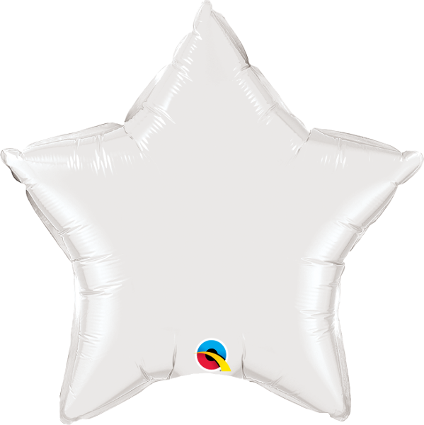 White Star Balloon | 18""