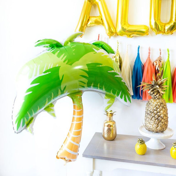Luau Aloha Tiki Balloon Tassel Party Box