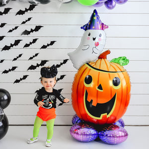 Ghost & Pumpkin Halloween Giant Balloon