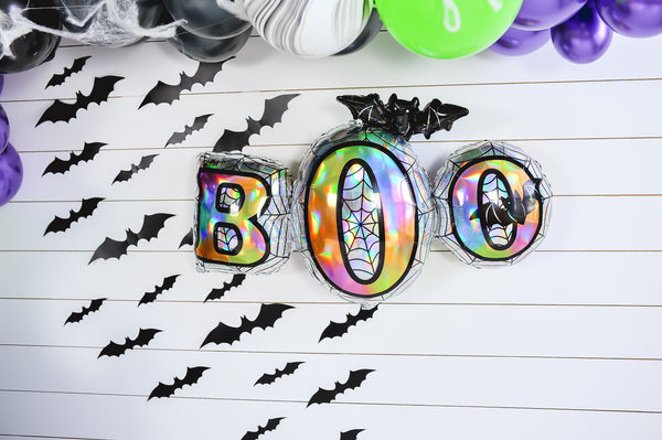 DIY Halloween Balloon Garland