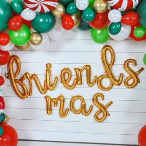 Friendsmas Balloon Banner