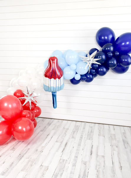 Red White Blue Popsicle Balloon
