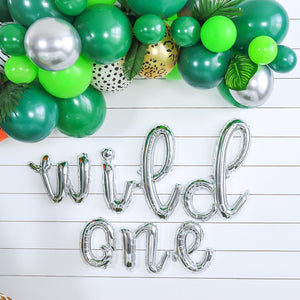 Wild One Balloon Banner