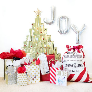 Joy Christmas Tree Party Box