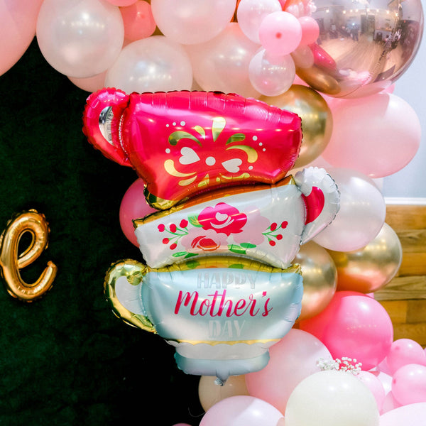 Happy Mother's Day Teacups Balloon