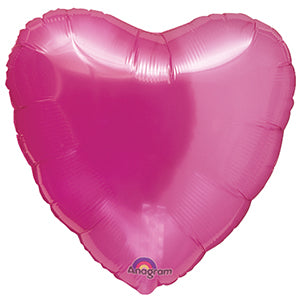 Translucent Pink Heart Balloon | 18""