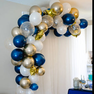 DIY Twinkle Twinkle Star Balloon Garland