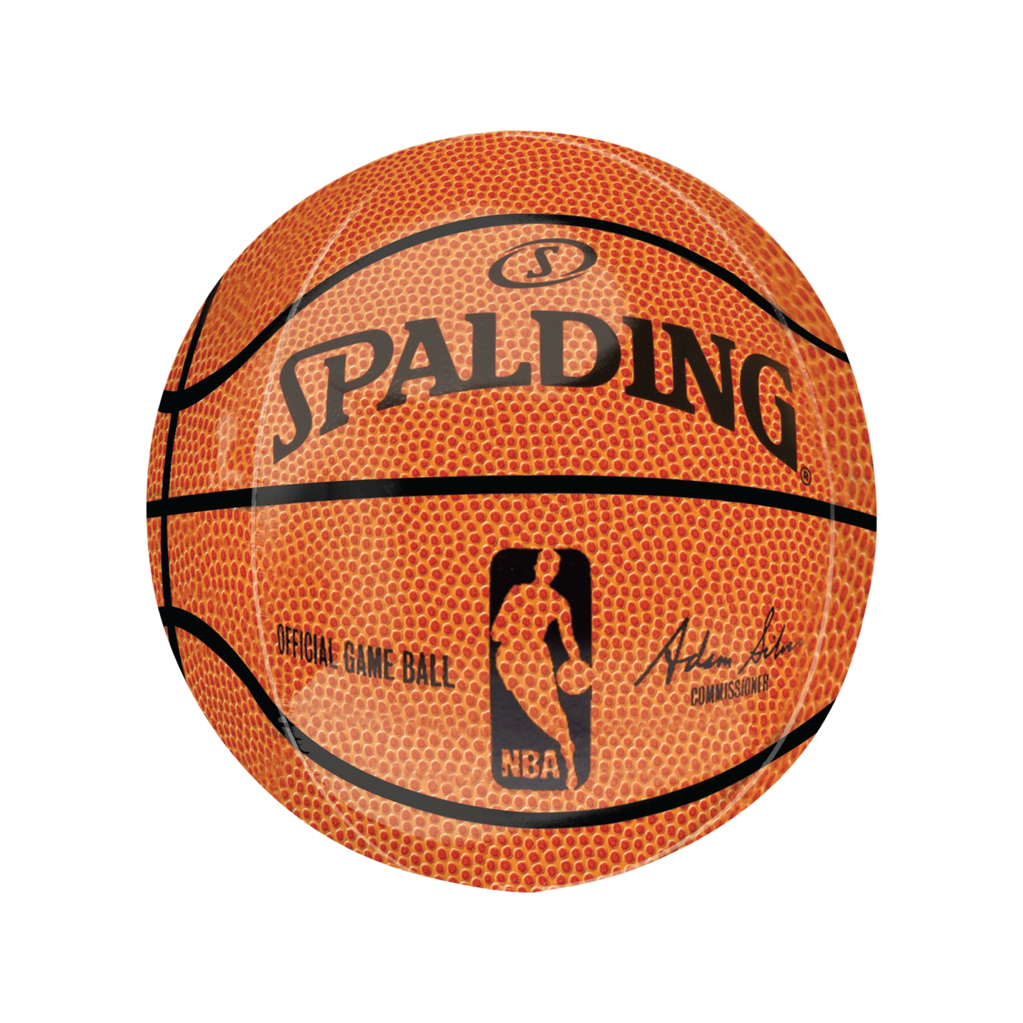 Spalding NBA Basketball Licensed Orbz Balloon