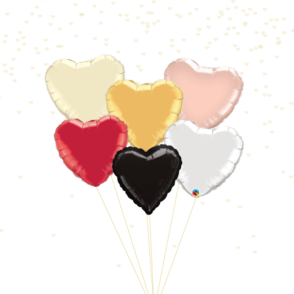 Iridescent Heart Balloon | 18""