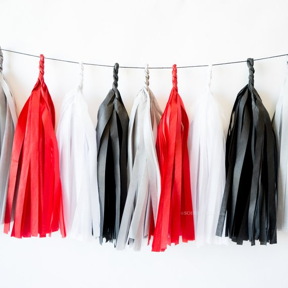 Knockout Paper Tassels
