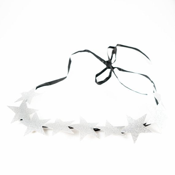 9 Star Glitter Headbands