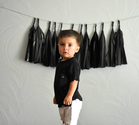 Blackout Paper Tassels