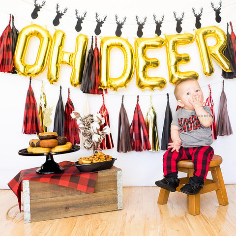 Oh Deer Balloon Tassel Garland Party Box