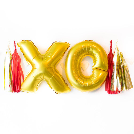 XOXO Balloon Banner | 16""