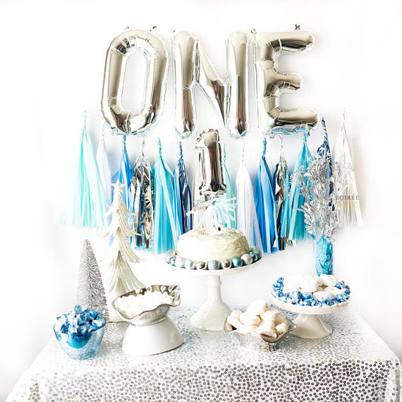 One Balloon Cake Topper