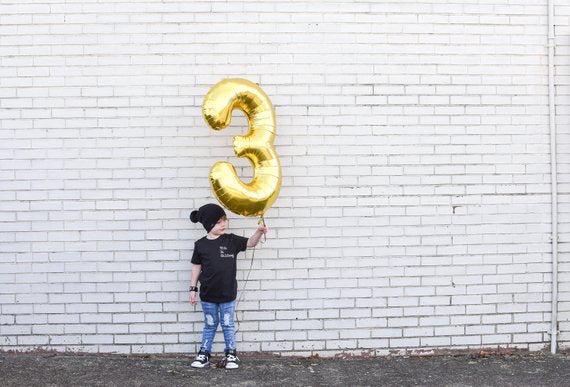 Jumbo Gold Balloon | 34""