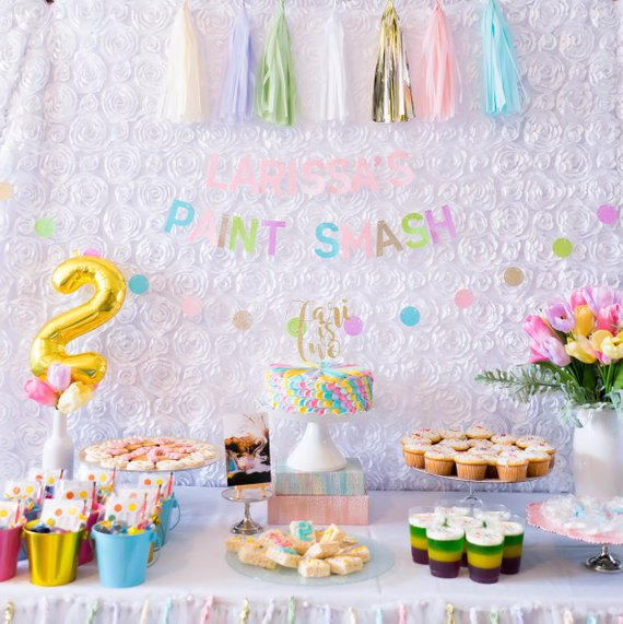 Custom Name Banner | Balloon Garland