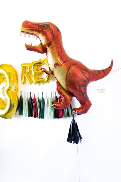 Three Rex Balloon Party Box