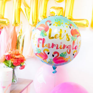 Let's Flamingle Ballon