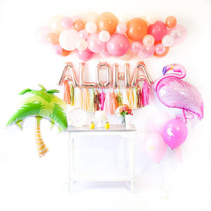 Aloha Flamingle Balloon Tassel Party Box