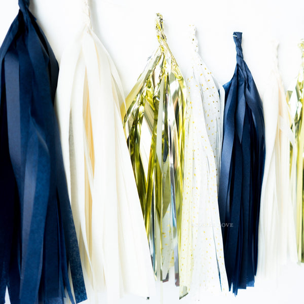 Best Man Paper Tassels