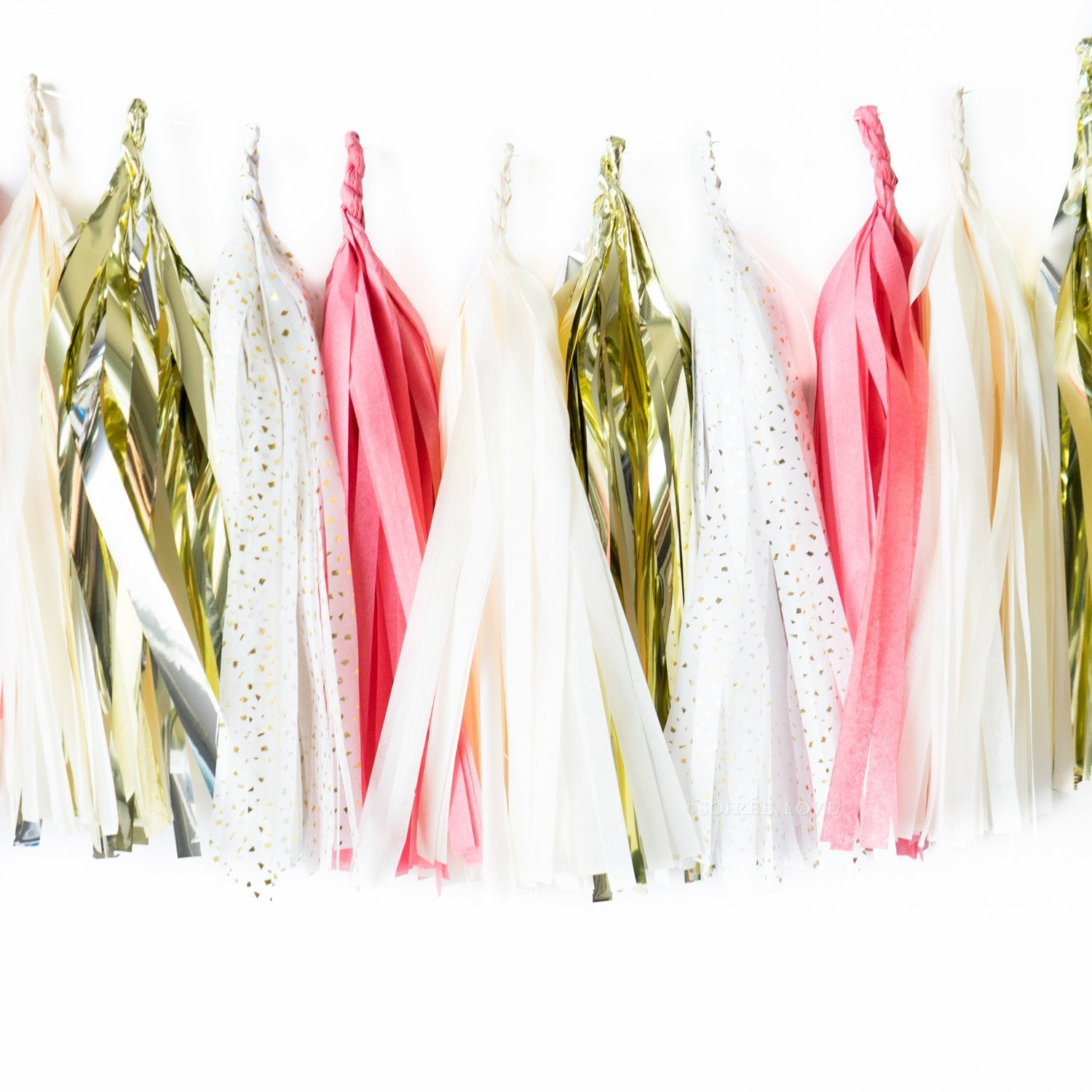 Maid of Honor Paper Tassels