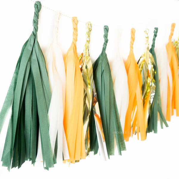 Thankful Paper Tassels