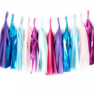 Metallic Unicorn Paper Tassels