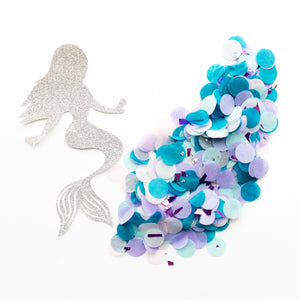Pink Mermaid Confetti