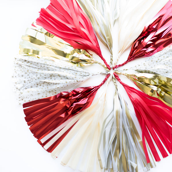 Love Star Paper Tassels