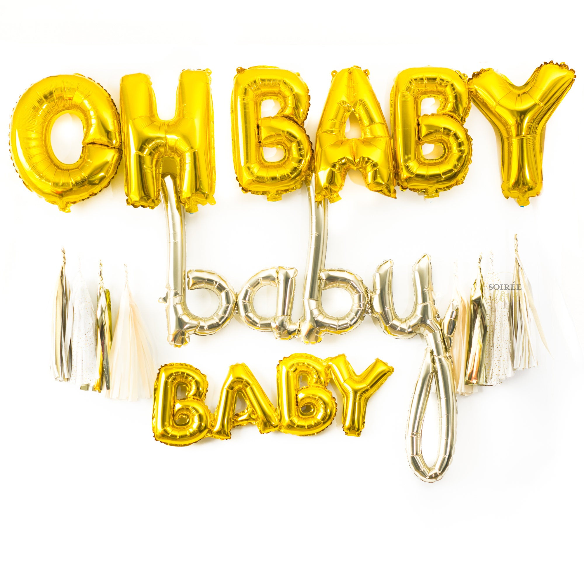 Oh Baby Balloon Garland Party Box