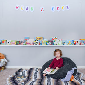 Read a Book Banner | Rainbow Banner