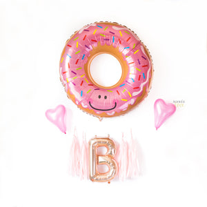 Donut Balloon Tassel Custom Party Box