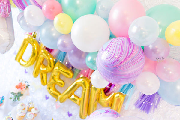 Unicorn Dreams Balloon Party Box