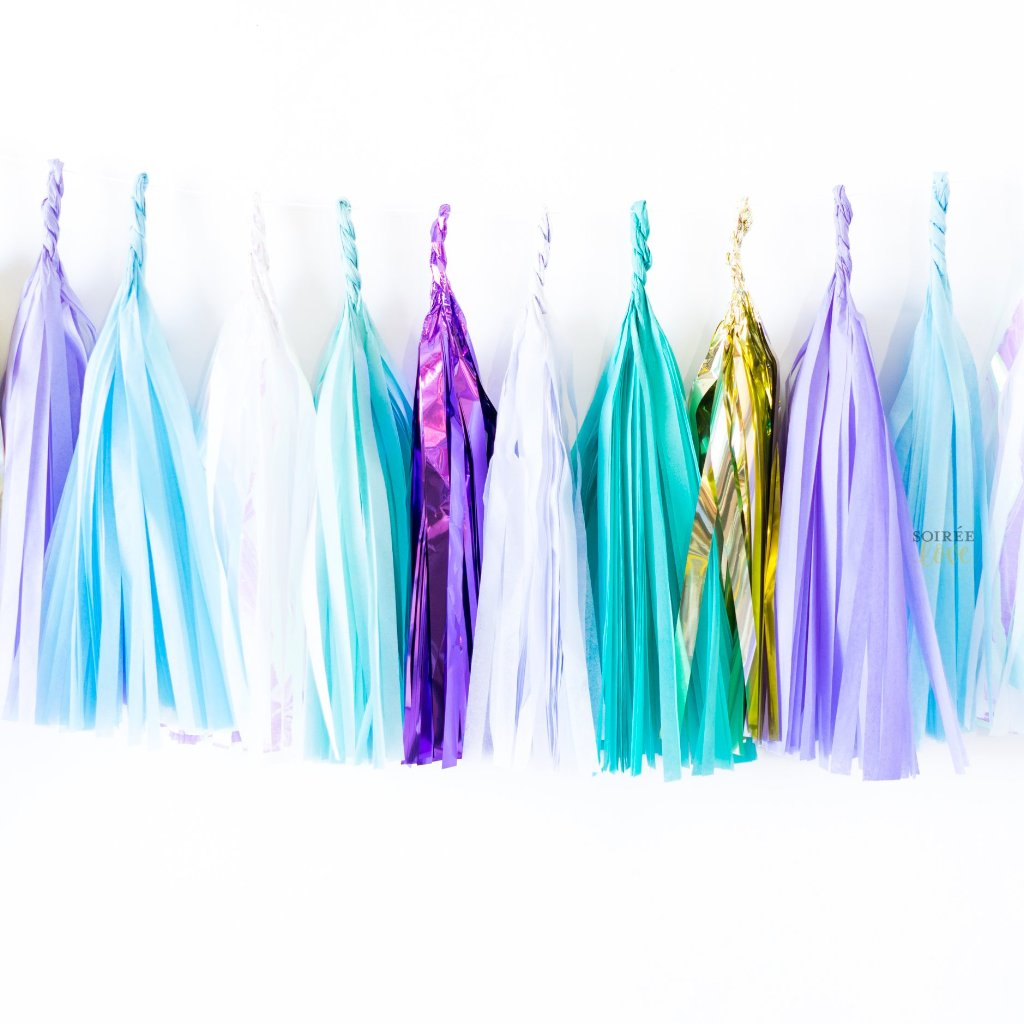 Mermaid Dreams Paper Tassels