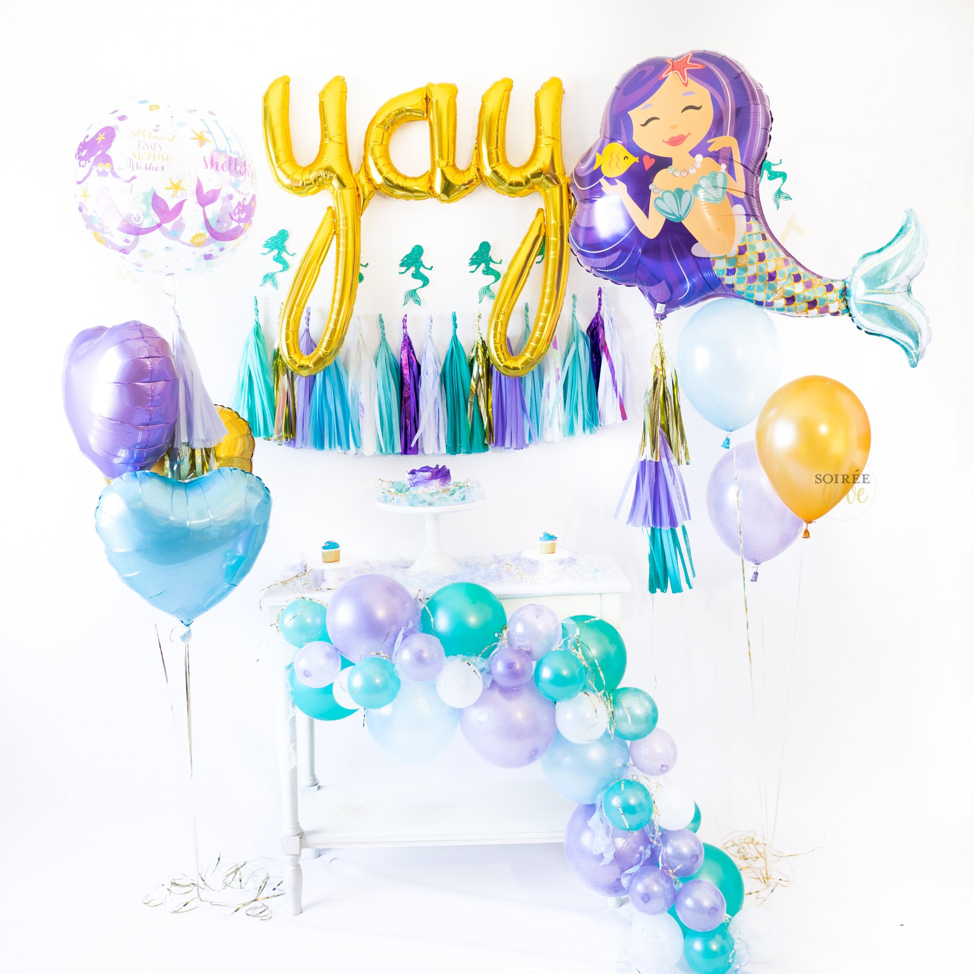 Mermaid Dreams Balloon Party Box