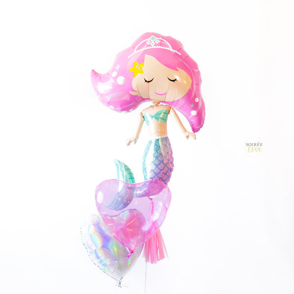 Mermaid Love Balloon Party Box