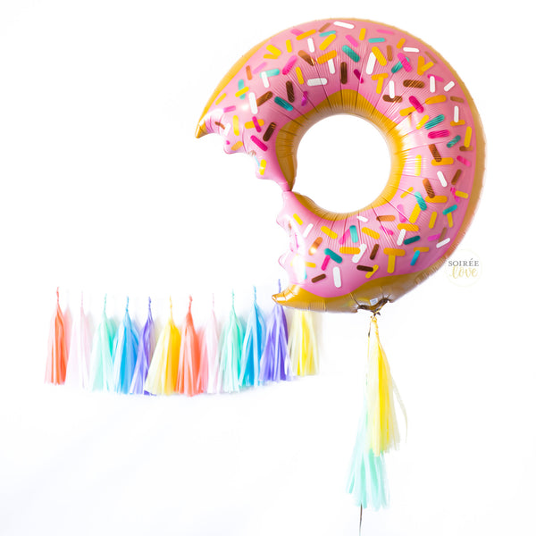Ice Cream Sprinkles Paper Tassels