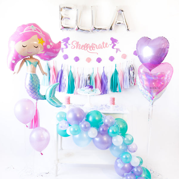 Mermaid Balloon | Pink