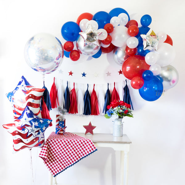 Patriot Star Balloon Bouquet