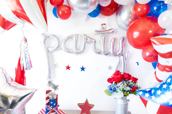 4th of July Party Balloon Tassel Party Box