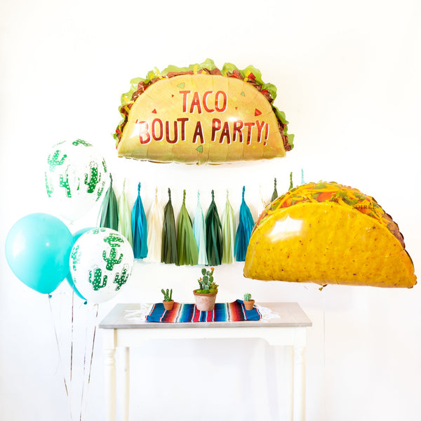 Taco Bout A Party Balloon Party Box