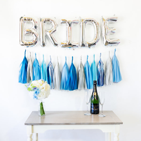 Bride Balloon Banner