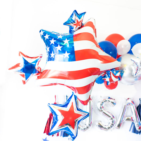 USA Balloon Tassel Party Box