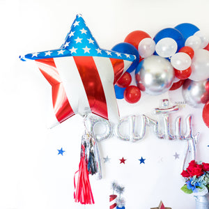 America Star Balloon (Add Ons Options)