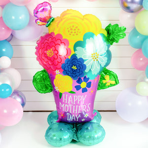 Mother's Day Flowers Balloon