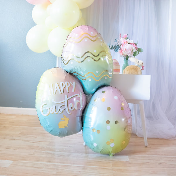 DIY Easter Balloon Garland
