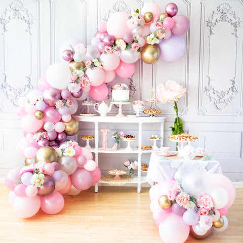 DIY Custom Balloon Garland